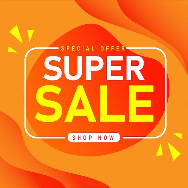 Projekt Szablonu Sprzedaży Baner, Oferta Specjalna Super Sprzedaż. Premium Wektorów