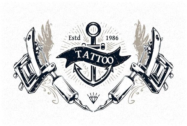 Projekt Tatuażu Darmowych Wektorów