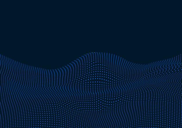 Projekt Tła Kropek Krajobrazu Techno Darmowych Wektorów