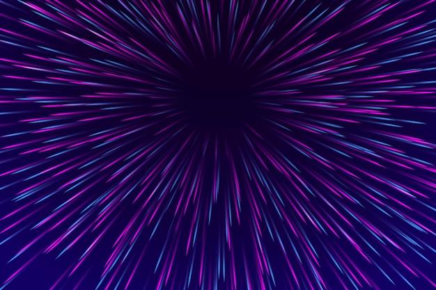 Projekt Tła światła Prędkości Darmowych Wektorów