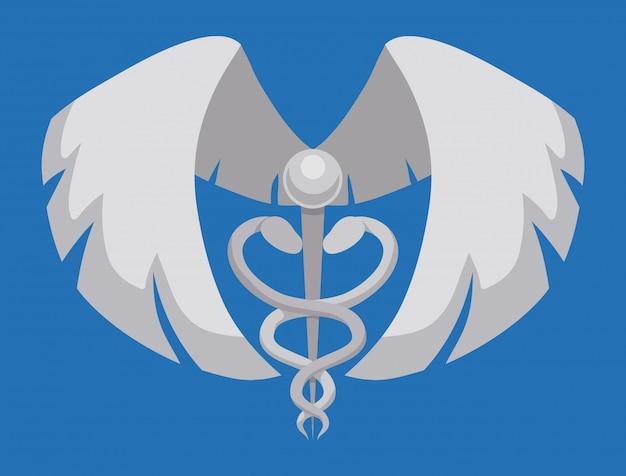 Projekt Ubezpieczenia Medycznego. Premium Wektorów