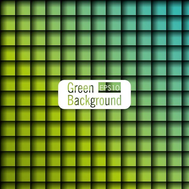 Projekt W Stylu Zielonym Tle Darmowych Wektorów