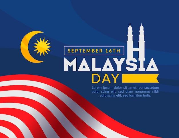 Projekt Wydarzenia W Malezji Darmowych Wektorów