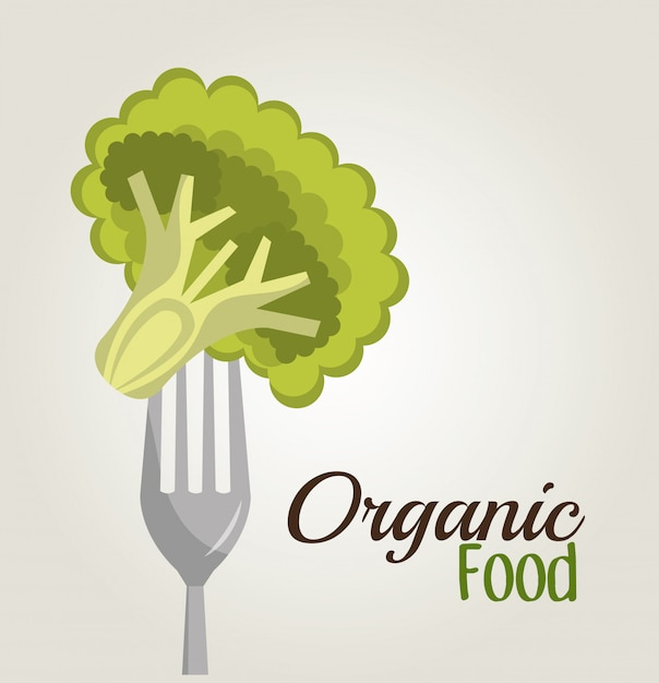 Projekt zdrowej żywności Darmowych Wektorów