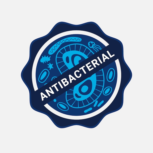 Projektowanie Logo Antybakteryjnego Darmowych Wektorów