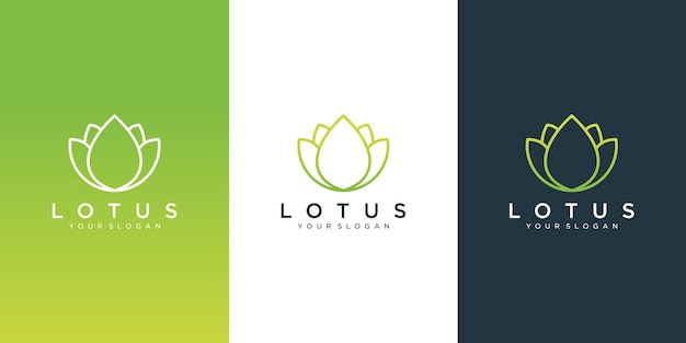 Projektowanie Logo Kwiat Premium Wektorów