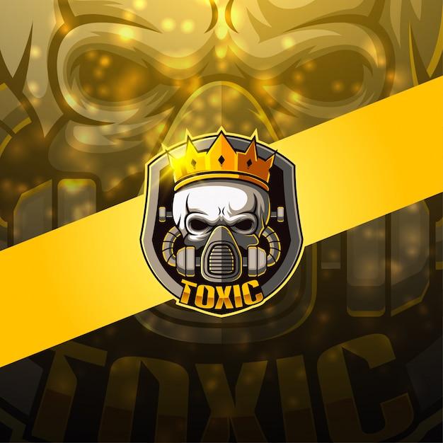 Projektowanie Logo Maskotki E-sportowej Premium Wektorów