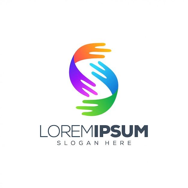 Projektowanie Logo Tech Premium Wektorów