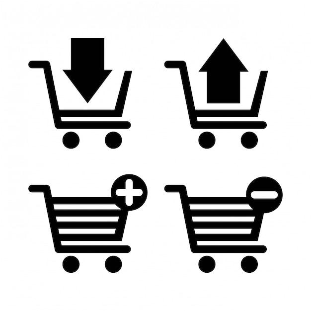 Projektowanie Zakupów Premium Wektorów