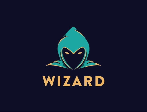 Prosty Szablon Logo Szefa Kreatora Na Czarno Premium Wektorów