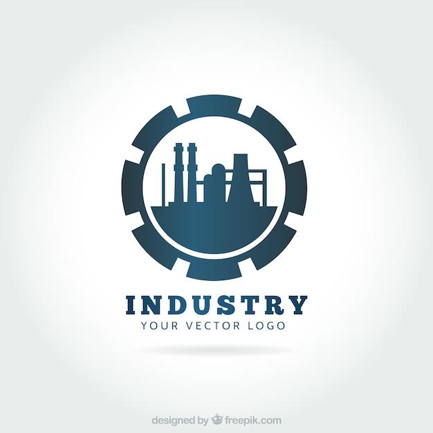 Przemysł logo Darmowych Wektorów