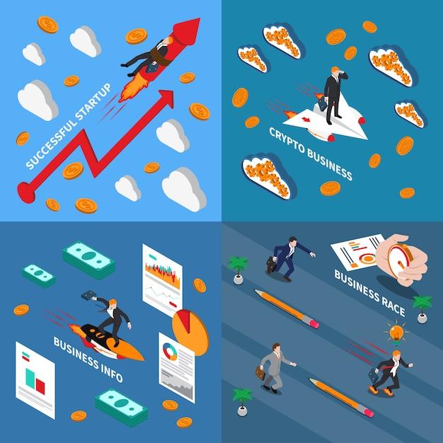 Przyspieszenie Ilustracja Koncepcja Biznesowa Darmowych Wektorów