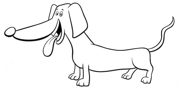 Purebred Dogshack Dog Kolorowanka Premium Wektorów
