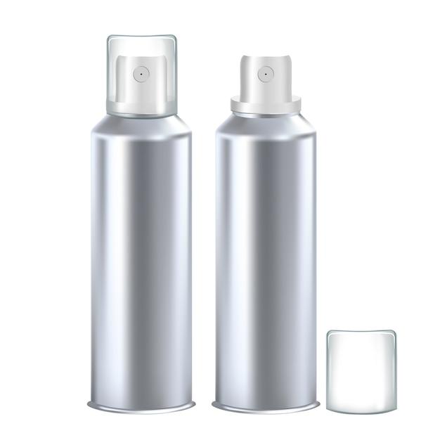 Pusta Butelka Dezodorantu Do Produktów Higienicznych Premium Wektorów