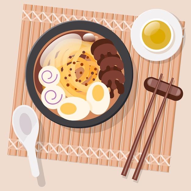 Pyszny Komfort żywności Koncepcja Darmowych Wektorów