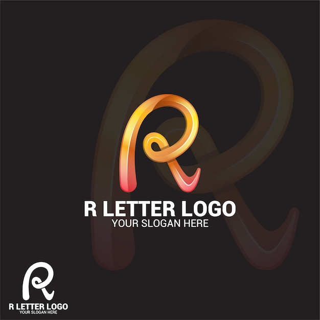 R list logo Premium Wektorów