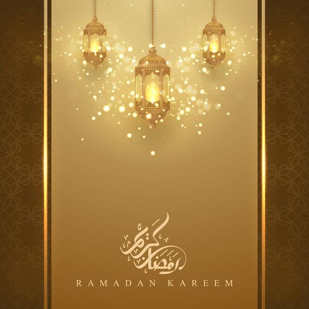 Ramadan kareem Premium Wektorów