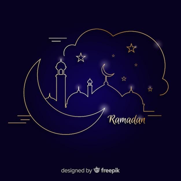 Ramadan Darmowych Wektorów