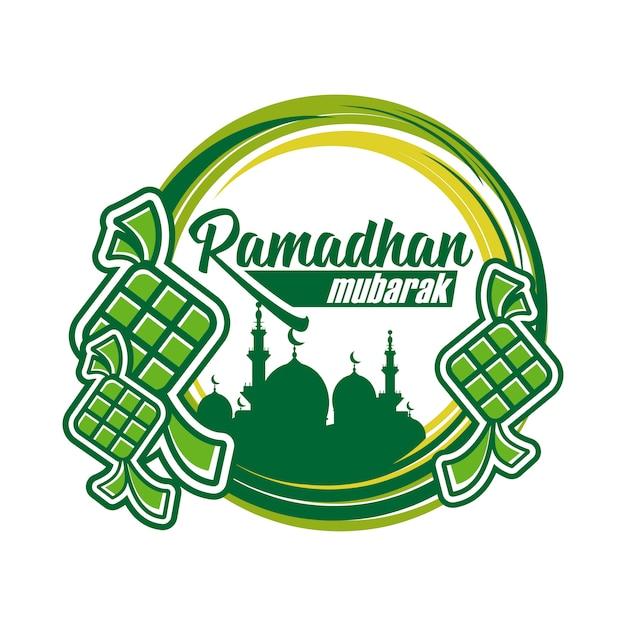 Ramadhan Mubarak Wektor Premium Wektorów
