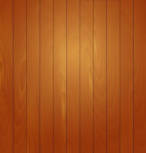 Realistyczna Drewniana Tło Wektoru Ilustracja Premium Wektorów