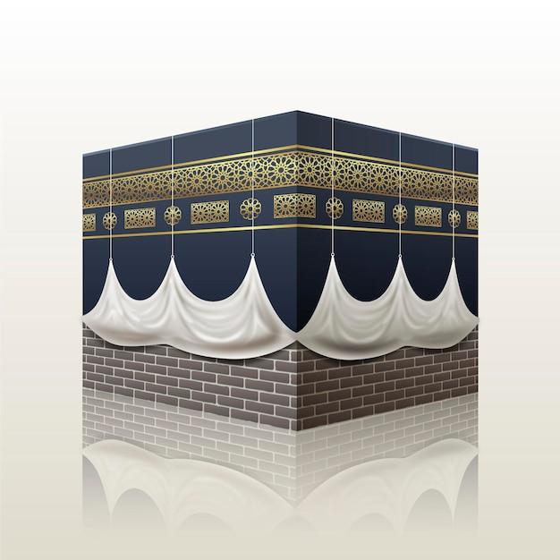 Realistyczna Koncepcja Islamskiej Pielgrzymki Darmowych Wektorów