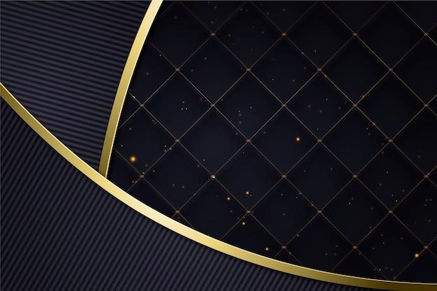 Realistyczne Eleganckie Kształty Geometryczne Tło Premium Wektorów
