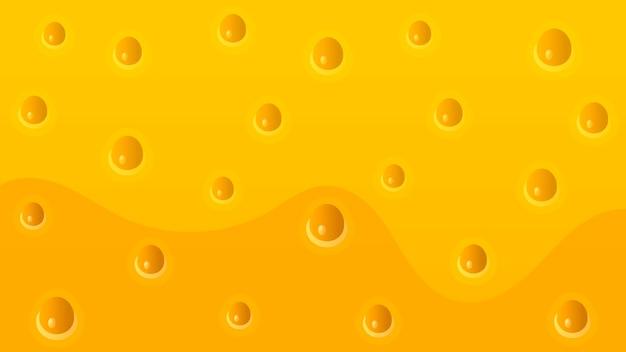 Realistyczne ser tekstura tło Premium Wektorów
