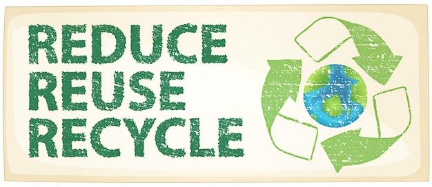 Recykling Darmowych Wektorów