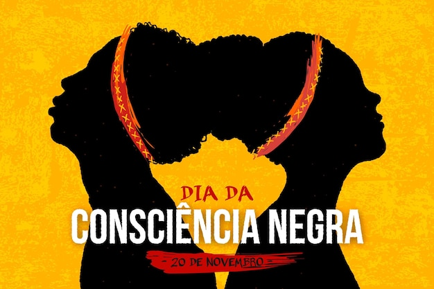 Ręcznie Rysowane Czarny Dzień świadomości Darmowych Wektorów