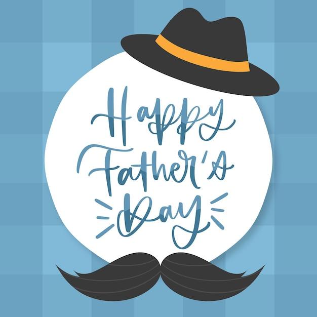 Ręcznie Rysowane Koncepcja Dzień Ojca Darmowych Wektorów