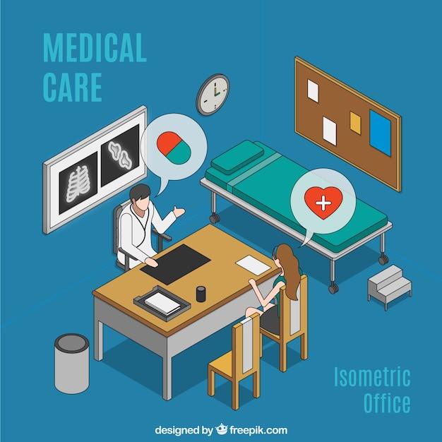 Ręcznie Rysowane Opieki Medycznej Darmowych Wektorów
