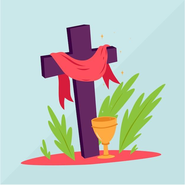 Ręcznie Rysowane Semana Santa Darmowych Wektorów