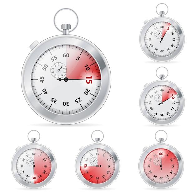 Regulator czasowy Premium Wektorów