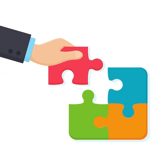 Ręka Biznesmena Premium Wektorów