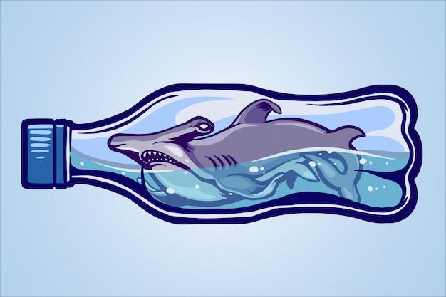 Rekin nie jest wolny Premium Wektorów
