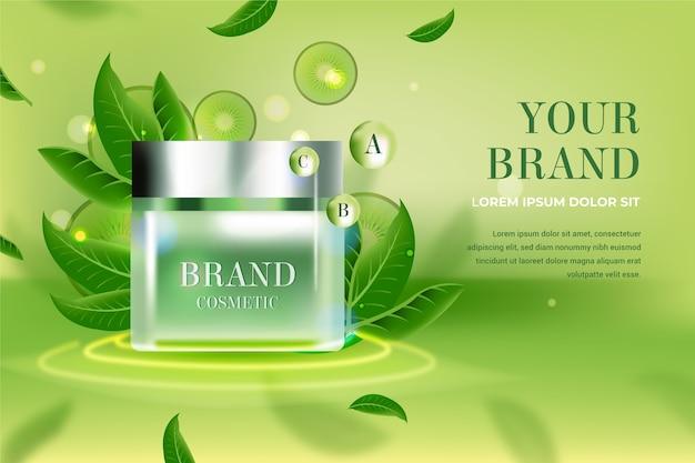 Reklama Produktu Kosmetycznego Darmowych Wektorów