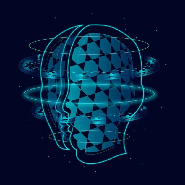 Robotyczny umysł Darmowych Wektorów