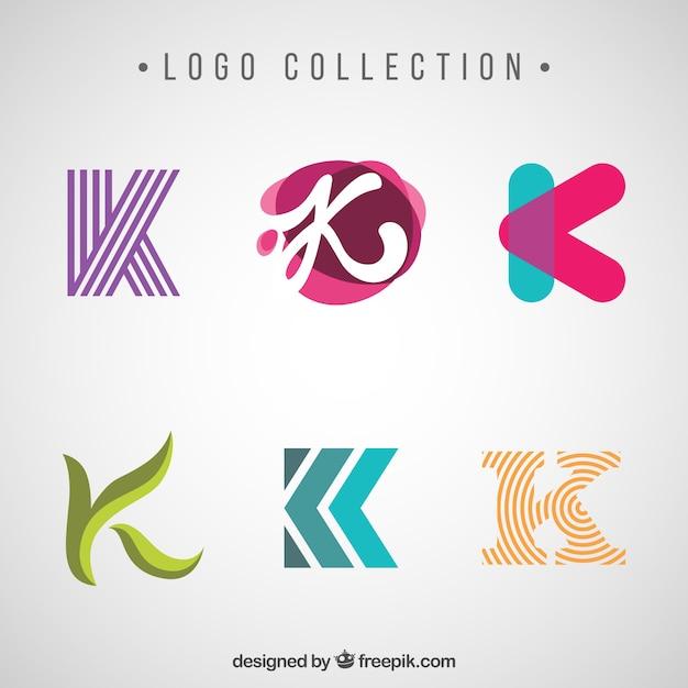 Różne Nowoczesne I Abstrakcyjne Znaki Logo