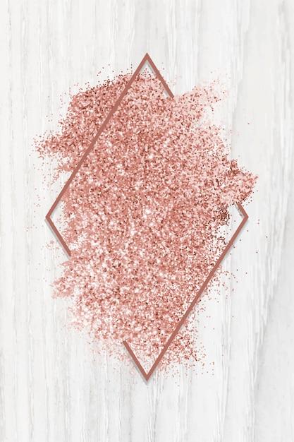 Różowa brokatowa smuga Darmowych Wektorów