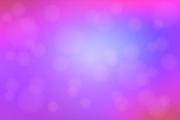 Różowy Purpurowy Błękitny Abstrakt Z Bokeh światłami Zamazywał Tło Premium Wektorów