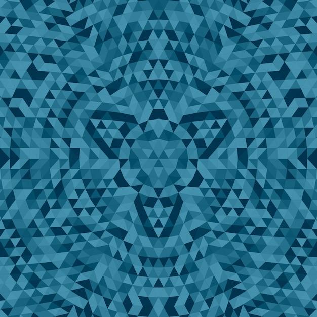 Runda Streszczenie Geometryczne Trójk? Ty Mandala T? A - Symetryczne Wektora Grafiki Wzór Z Trójk? Tami Premium Wektorów