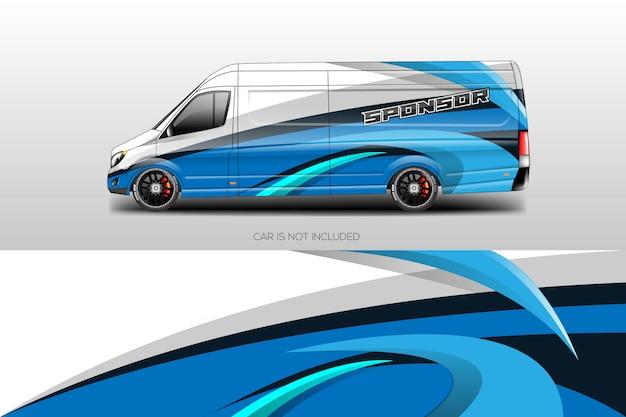 Samochód okładki projektuje wektor Premium Wektorów