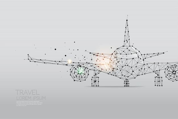 Samolot Premium Wektorów