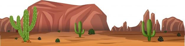 Scena Krajobrazowa środowiska Naturalnego Darmowych Wektorów