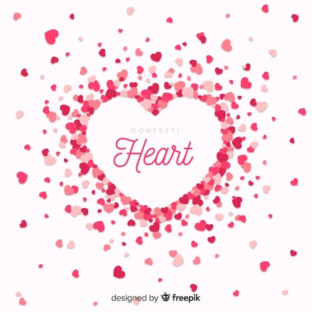 Serce tło Darmowych Wektorów