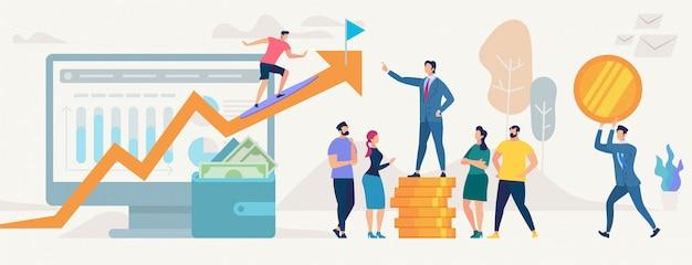 Sieć Społeczna I Koncepcja Pracy Zespołowej Wektor. Premium Wektorów