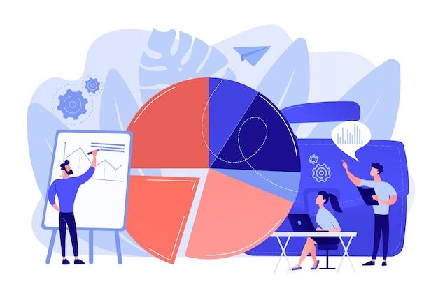 Skala Sprzedaży. Element Wizualizacji Danych, Wykres Marketingowy. Dane Badawcze Darmowych Wektorów