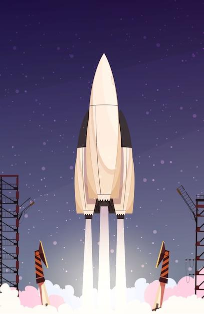 Skład rakiety rakietowej Darmowych Wektorów