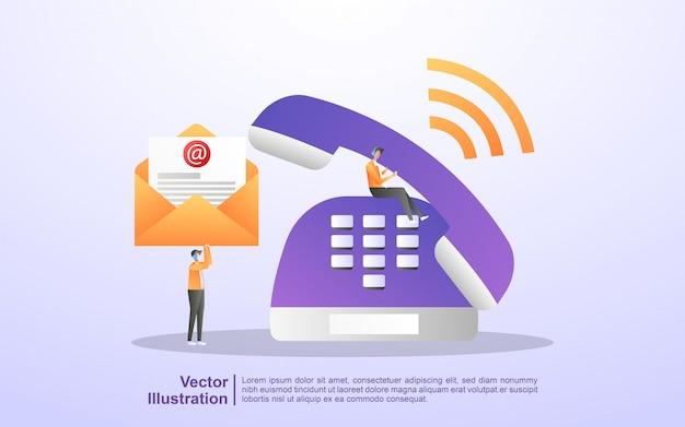 Skontaktuj Się Z Nami. Obsługa Klienta 24/7, Wsparcie Online, Biuro Pomocy Premium Wektorów