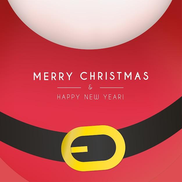 Śliczne Boże Narodzenie Ramki Z Tłem Mikołaj Darmowych Wektorów